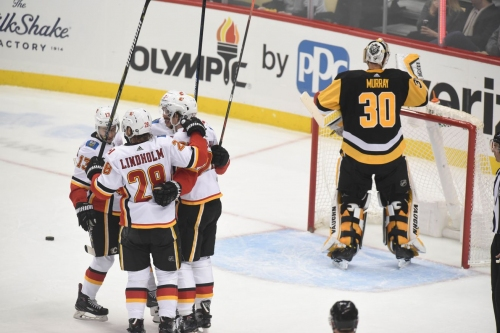 Flames Snap Losing Streak, Dish Out Revenge in Victory over Penguins