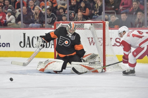 Wings Fall In Overtime 6-5, After Furious Comeback Against Flyers
