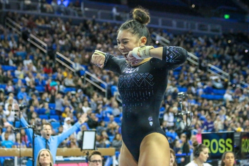#3 UCLA Gymnastics Hosts #25 Arizona Wildcats in This Afternoon