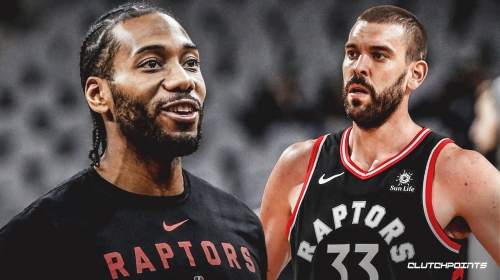 Kawhi Leonard says Marc Gasol can 'cause a lot of tension on that low block'