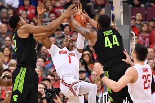 Michigan State basketball begins stretch run with Big Ten title in reach