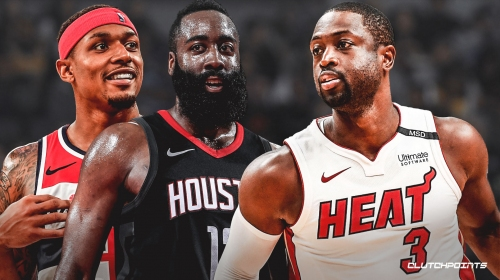 Dwyane Wade thinks James Harden and Bradley Beal are taking the torch as NBA's top shooting guards