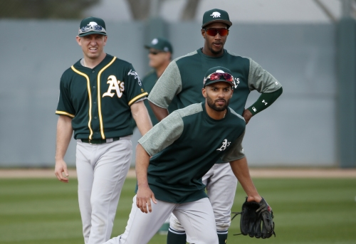 Marcus Semien establishing connection with Profar, ready to lead young A's
