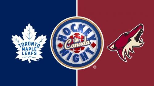 Hockey Night in Canada: Maple Leafs vs. Coyotes