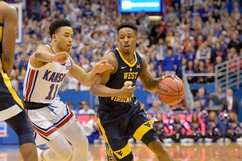 West Virginia Falls To Kansas On The Road