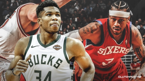 Bucks' Giannis Antetokounmpo grew up watching highlights of Allen Iverson
