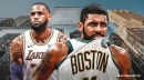 Celtics' Kyrie Irving says his relationship with Lakers' LeBron James is 'none of your business'