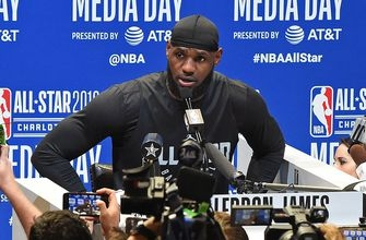 LeBron on Kyrie's apology, Lakers, Kaepernick, D-Wade, Zion comparisons, more | NBA ALL-STAR
