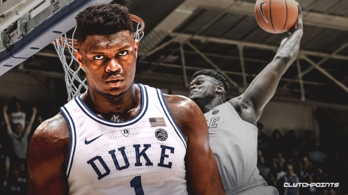 Video: NBA Draft prospect Zion Williamson has Dunk Contest-worthy slam during warm-ups