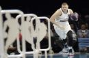 Nuggets All-Star Nikola Jokic got knocked out of Skills Challenge
