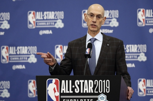 NBA commissioner Adam Silver addresses Anthony Davis fiasco during All-Star weekend