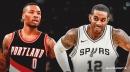 Spurs' LaMarcus Aldridge would like to swap jerseys with Blazers' Damian Lillard
