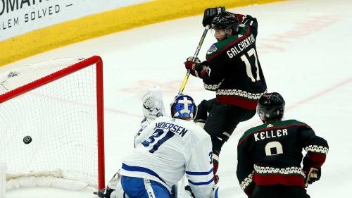 Coyotes shutout Maple Leafs in Matthews' return to Arizona