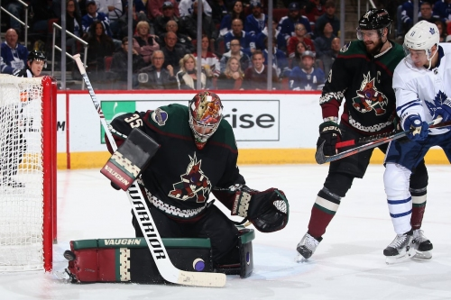 Leafs offence dries up in loss to Coyotes