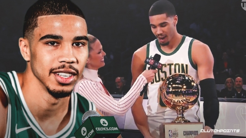 Celtics' Jayson Tatum says All-Star Skills Challenge trophy will go to his mom's house