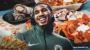 Celtics' Jayson Tatum jokes about calling Taco Bell for a deal after All-Star Skills Challenge win