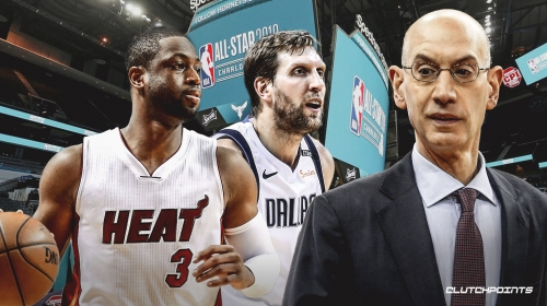 Adam Silver says fan email gave idea of adding Dwyane Wade, Dirk Nowitzki to main event