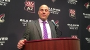 Coyotes head coach Rick Tocchet on 2-0 win over Maple Leafs