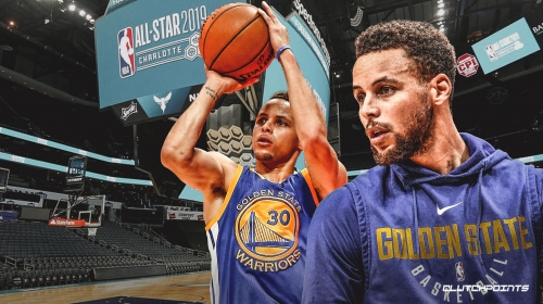 Warriors' Stephen Curry flip-flops answer on final All-Star 3-point contest
