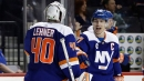 Barzal, Lee score in 3rd period to lead Islanders past Oilers