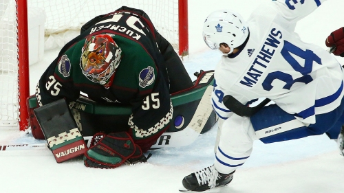 Maple Leafs unconcerned by off-night against disciplined Coyotes