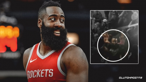 Video: Rockets' James Harden responds to fan's question about traveling