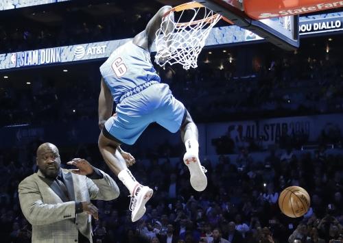 Jayson Tatum, Joe Harris, Hamidou Diallo win titles at NBA All-Star Saturday