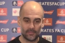 Pep Guardiola aims dig at Manchester United following Man City FA Cup win over Newport