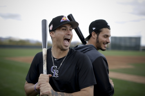 """Nolan Arenado's younger cousin is gunning for his job. """"I think I'm better than Nolan … I really think I am."""""""