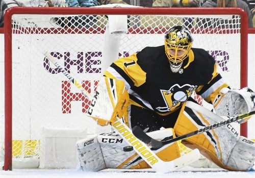 Casey DeSmith starts, as Penguins avoid 'big picture'
