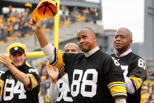 A Pittsburgh Steelers Hall of Fame wide receiver, with class
