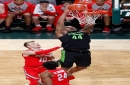 Michigan State clamps down on Ohio State; how bad is Nick Ward's hand?