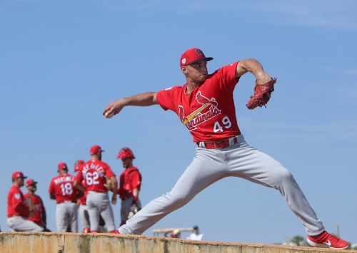 Hochman: Just how seldom did Cards opponents barrel Jordan Hicks pitches?