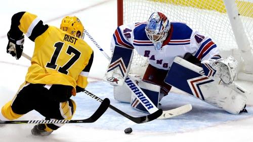 Malkin, Letang each score twice, Penguins beat Rangers