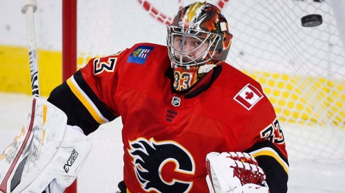Flames looking inward for answers to goaltending questions
