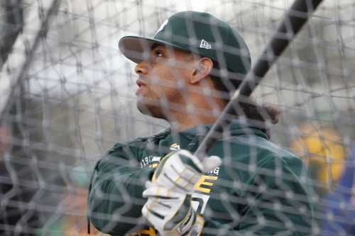 Khris Davis opens up about contract situation with A's, impending free agency