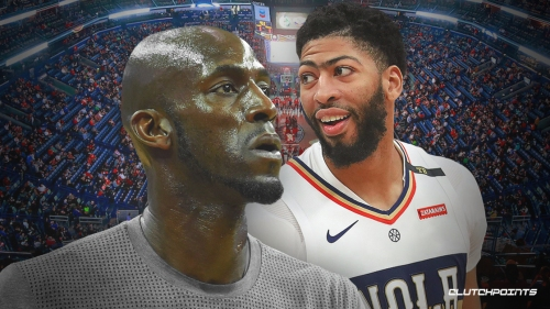 Kevin Garnett thinks process of Anthony Davis' trade request from Pelicans was 'unprofessional'