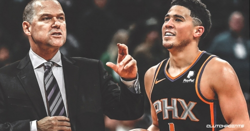 Devin Booker says Nuggets coach Mike Malone gave him career advice at All-Star Weekend
