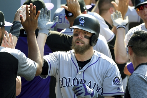 Mark Reynolds returns to Rockies ready to embrace role coming off bench