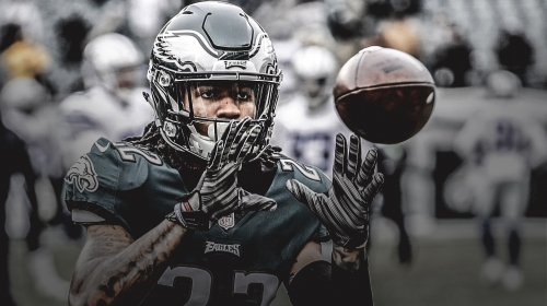 Eagles CB Sidney Jones says 'No. 1 focus' is getting and staying healthy