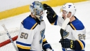 Blues post 3rd straight shutout, beat Wild for 10th straight