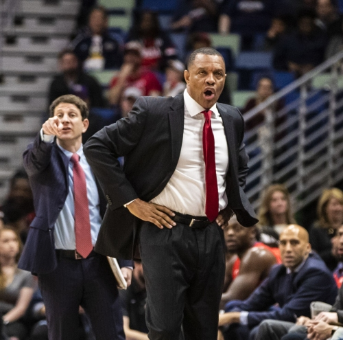 Pelicans coach Alvin Gentry and guard Jrue Holiday handle Davis drama with dignity