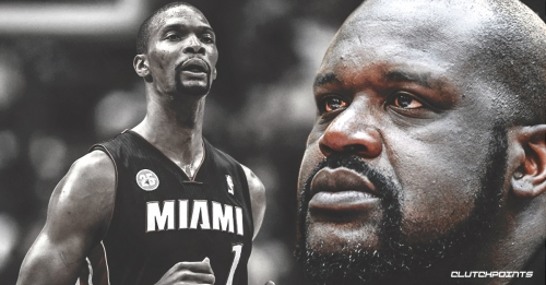 Shaquille O'Neal to attend Chris Bosh Heat jersey retirement on March 26