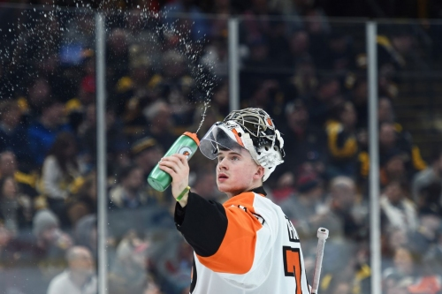 Flyers 3, Red Wings 1: Someone made a blood sacrifice