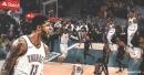Video: Paul George throws down slick 360 dunk