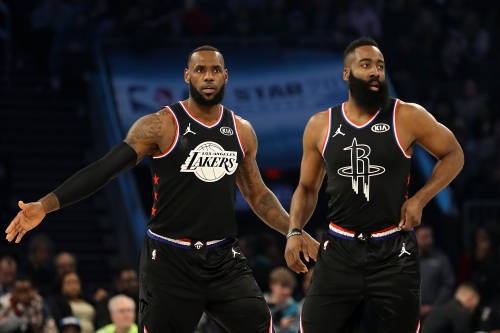 LeBron James shows resolve as his team tops Team Giannis in All-Star Game