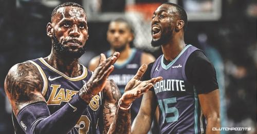 Lakers' LeBron James praises Kemba Walker for making Hornets relevant