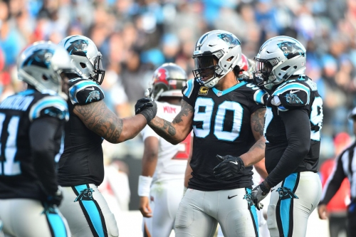 The Panthers' defense fought through injuries and coaching changes in 2018