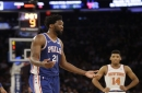 'Hungry' Joel Embiid reminds Dr. J of Moses Malone