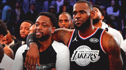 Lakers forward LeBron James says playing with Heat guard Dwyane Wade again meant 'everything'